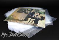 "McDAISON - 100 BUSTE esterne per LP dischi 33 giri vinile 12"" Polietilene 80my"