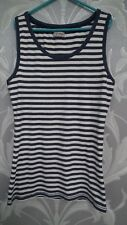 Next Blue and White Striped Girls Vest Topage 13 Years