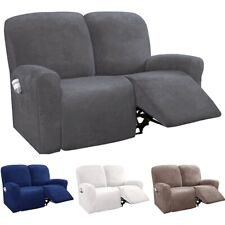 1/2/3 Seater Recliner Chair Cover Armchair Sofa Slipcover Relax Couch Protector