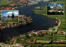 Holanda luchtopname fotografía aérea aire imagen Zaanse Schans Zaandam Países Bajos ak