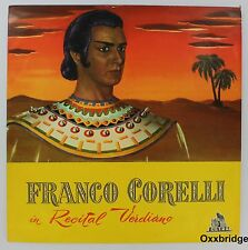 FRANCO CORELLI Recital Verdiano CETRA Italy NEAR MINT Rare QUESTA/BASILE/SIMONET