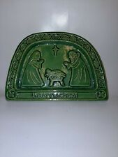 Christmas Nativity Plaque Or Table Display Callura Pottery Ireland