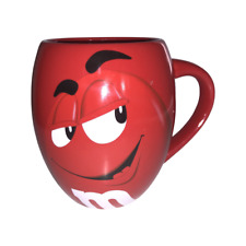 More details for official m&m's world large red wanna piece of me? barrel mug 2015