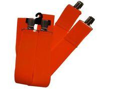 """Suspender Neon Orange 2"""" Wide"""