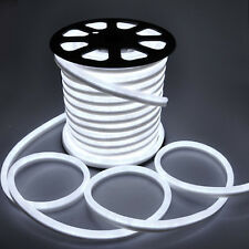 """LED Neon Rope Flex Cable 23 meters """"Can be Cut"""" WHITE IP66"""
