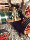 Mamod TE1A / SR1A / Wilesco  Brass effect oil lamp / Steam accessories