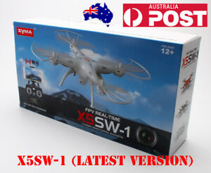 CLEARANCE SYMA X5SW-1 FPV REAL-TIME Quadcopter CLEARANCE