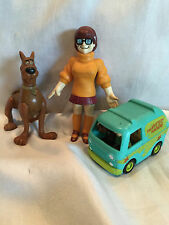 1999 Daphne, 1996 Scooby-Doo & Mystery Machine Van Burger King Happy Meal Toys
