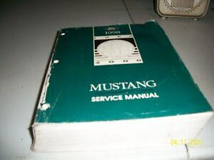1998 FORD MUSTANG OEM SERVICE MANUAL WORKSHOP MANUAL