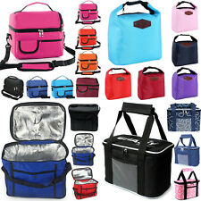 Portable Thermal Lunch Cool Bags Food Storage School Work Travel Picnic Packs