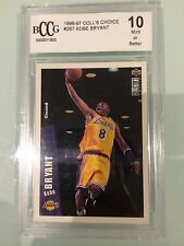 Kobe Bryant Basketball Trading Cards Lot