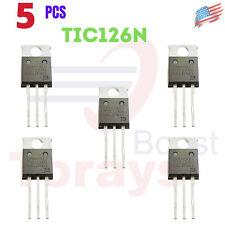 Tic126n Bourns Thyristor Scr 800v 100a 3 Pin To 220 5pcs