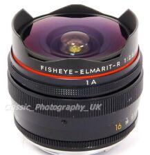 LEICA Fisheye-Elmarit-R 16mm F2.8 Lens by LEITZ Wetzlar 3-CAM for all R Models!