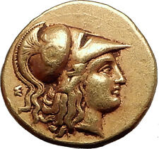 ALEXANDER III the Great 324BC Authentic Ancient Greek GOLD Coin LIFETIME Rare