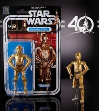 MOSC STAR WARS THE BLACK SERIES C-3PO SEE-THREEPIO 40TH ANNIVERSARY
