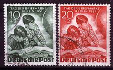Berlin 80-81, o, giorno del francobollo 1951