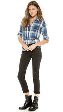 RTA schwarz Destroyed Skinny Boyfriend Jeans W25 UK 6/8