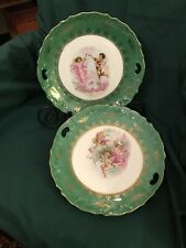 Three Crown China Angels & Cherub Germany Porcelain Plates