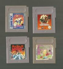 Game Boy/4 jeux-Aqualand Fighter/small soldiers/radar mission/Barbe