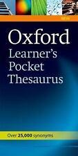 Oxford Learner's Pocket Thesaurus, Varios, Good Book