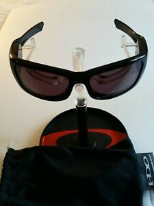 OAKLEY SPLIT THUMP POLISHED BLACK WITH GRAY IRIDIUM LENSES NO MP3 - HIJINX