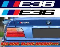 E36 POUR BMW MOTORSPORT SPORT RACING 18cm AUTOCOLLANT STICKER LOGO BMW