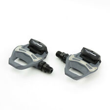 Shimano PD-R550 SPD-SL Road Bike Bicycle Pedals + SM-SH11 Cleats - Grey
