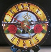 Brand New Guns N Roses CD Clock Music Hard Rock Heavy Metal Nice!!