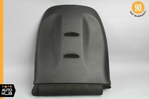 08-14 Mercedes W216 CL63 CL600 Front Right Seat Back Cover Black 2169100639 OEM