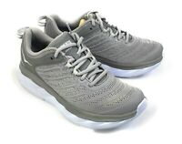 Women's Hoka One One Akasa Walking Running Shoes Grey Size 7 Wide