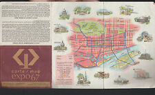 Expo 67 Map Canadian Imperial Bank of Commerce Montreal