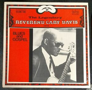 Reverend Gary Davis Lord I Wish I Could See 1971 SEALED USA LP