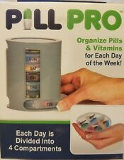 Original Pill Pro Case Organizer Weekly- Daily Containers Seen On TV