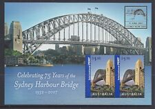 Australia 2007 Sydney Harbour Bridge MS O/PT (Sydney NSW 2000)