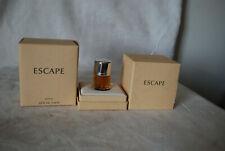 ESCAPE  Parfum  By Calvin Klein 7ml .25 Fl.oz new