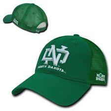 NCAA NDU North Dakota University Curved Bill Relaxed Trucker Mesh Caps Hats