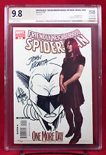 SPIDER-MAN #24 PGX 9.8 NM/MT Near Mint/Mint - Partial Sketch Cover by KEN HAESER