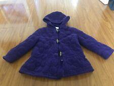 Gymboree Girls Winter Coat Purple Color Size XS 3-4