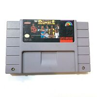 WWF Royal Rumble - WWE - SNES Super Nintendo Game - Tested - Working - Authentic