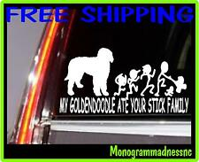 My Goldendoodle Ate Your Stick Family Vinyl Decal Sticker Car Truck
