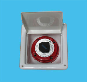 """SSI Recessed battery switch box (covered) enclosed  8"""" x 8 1/8"""" x 4"""" marine, rv"""
