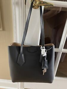 DKNY Women's Large North/South Tote Bag Handbag Purse Black