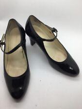 Ladies Van Dal Americano Black  patent  Mary Jane court shoes UK 5.5 D EU 38.5