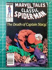 Marvel Tales Spider-Man #225-226 (1989) Death of Captain Stacy Stan Lee Gil Kane