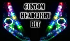 LED RGB Cabeza Luz Halo Angel Eye DRL Daylight Bluetooth Luz Retrofit