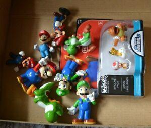 Super Mario Sammlung / 11 Figuren gebraucht + OVP