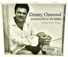Somewhere In Time Donny Osmond CD 12 Classic Love 💖 Songs Special Edition Music