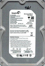 SEAGATE ST3500630AS 500GB P/N: 9BJ146-505 F/W: 3.AAD WU Sata Hard drive #461