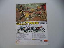 advertising Pubblicità 1978 BULTACO PURSANG MK/ALPINA 250 350/FRONTERA/SHERPA T