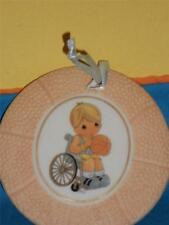 Precious Moments Give Ability A Chance #192384 Basketball Wheelchair Ornament